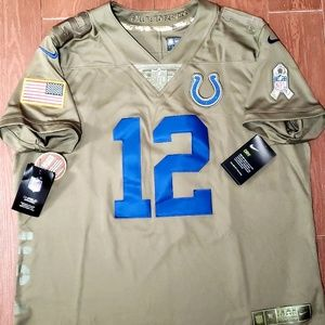 96c288048 Nike Other - Nike Salute to Service COLTS Jersey Andrew LUCK
